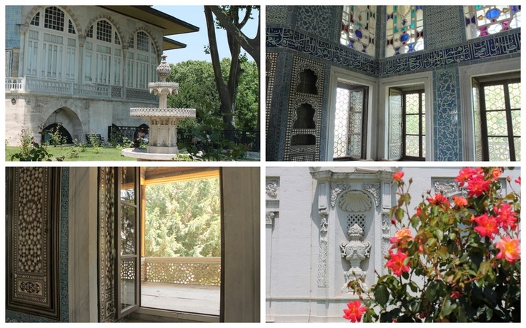Scenes from the Topkapi Palace
