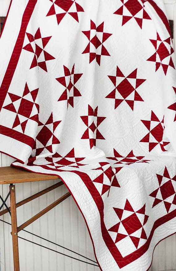 454 best Quilts...Red and White images on Pinterest | Patchwork ...
