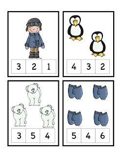 Preschool Printables: Winter