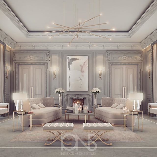 Top Interior Design Firm In Dubai: Sitting Area Design - By IONS DESIGN