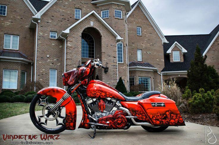 Harley-Davidson : Touring 2012 Harley Street Glide Custom Built by Joey Beam's Vindictive Wayz, Road Glide