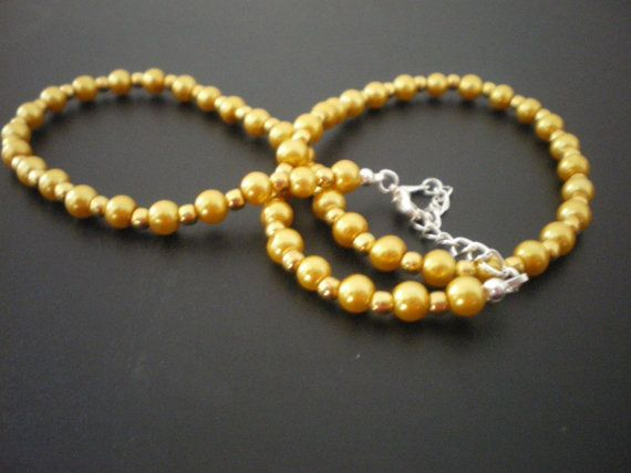 Golden Caviar Necklace