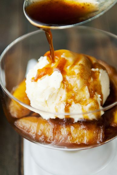 bananas foster recipe | use real butter
