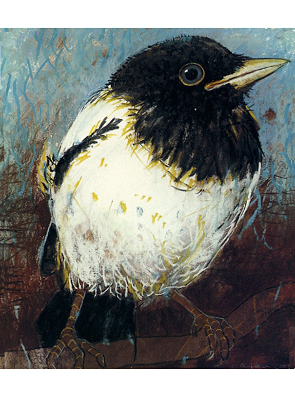 ***YOUNG MAGPIE***  Pastel (2005) Loes Botman