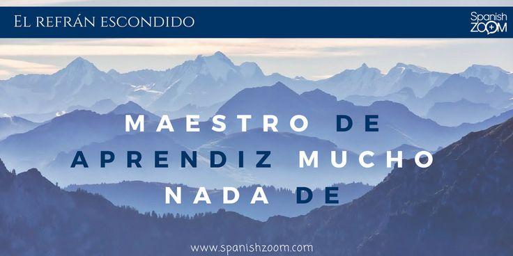 Ordena las palabras y descubrirás un #refrán popular en #español 😁  Si te gustan los #refranes visita nuestro reciente post 👉 http://bit.ly/2prbDns    #saying #dichos #sayings #énonciations #sprüche #detti #provérbios #rčení #spanish #aprenderespañol #enlínea #learnspanish #online #learnspanishwithspanishzoom #zoom #languages #spanishzoom