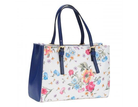 geanta pretta imprimeu floral - genti dama