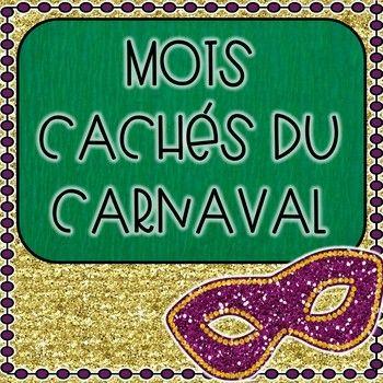 Mots cachés du Carnaval