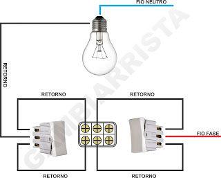Como Instalar Um Interruptor Intermediario Em 2020 Como Fazer