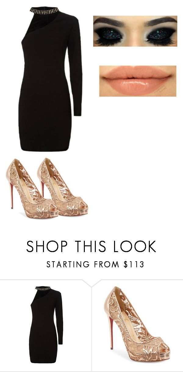 """""""The X Factor Paris"""" by rafah-0lliver ❤ liked on Polyvore featuring beauty, Christian Louboutin and Too Faced Cosmetics"""