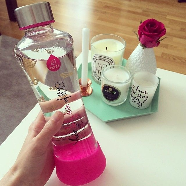 #equa #myequa #lovedailydose #healthy #water #pink #design #homedecor #waterbottle