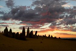 WAN-0004849 © WestPix Pinnacles at sunset.