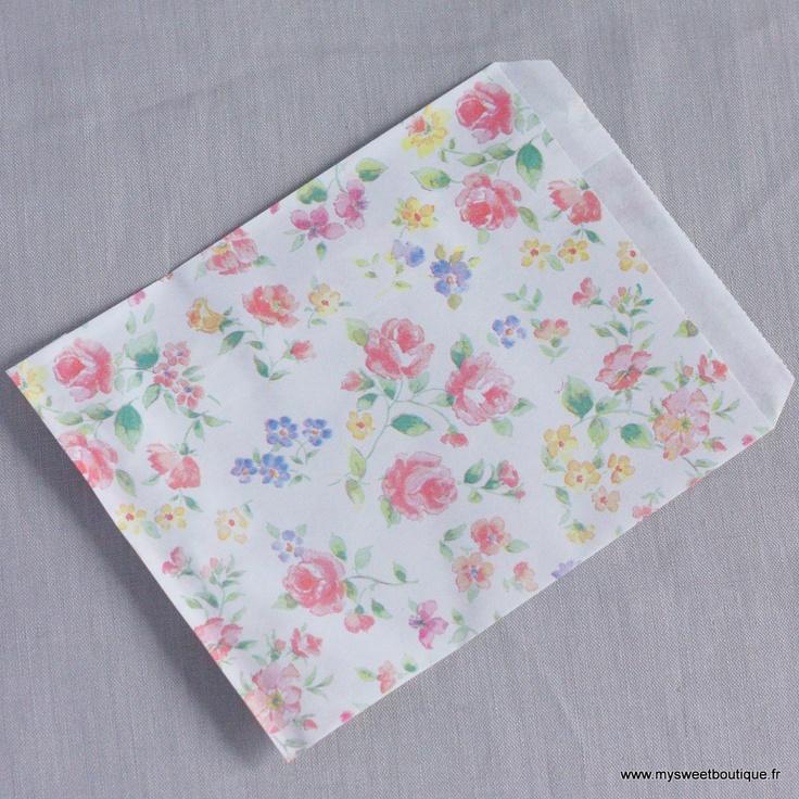 Sachets en papier à fleurs by My Sweet Boutique
