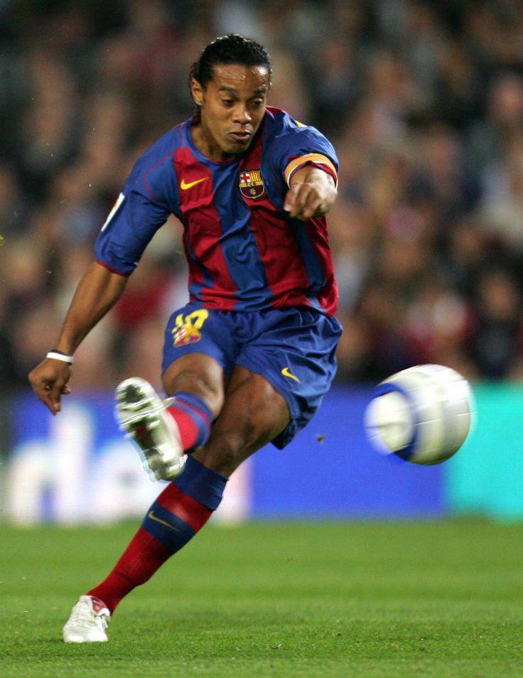"""Ronaldinho """"Gaucho"""" de Assis Moreira, Brazil."""
