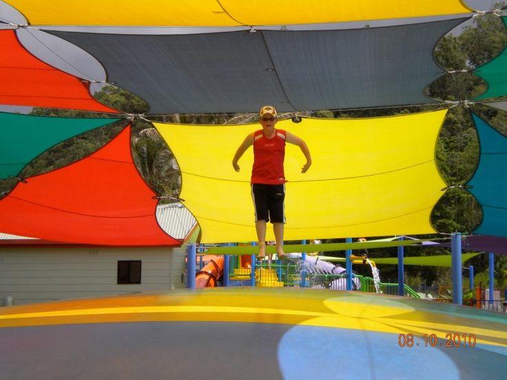 Caravan Park Cairns not just for little kids #cairnscoconut