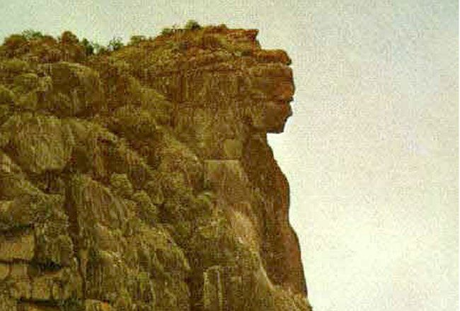 "Share this:MessageToEagle.com – There she is! You don't have to look twice to see her. The truly remarkable ""Lady of Mali"" is an ancient giant sculpture overlooking an almost inaccessible summit of a mountain in Guinea, West Africa.  Located at 1500 m altitude, the statue is clearly visible at great distance in its full shape. …"