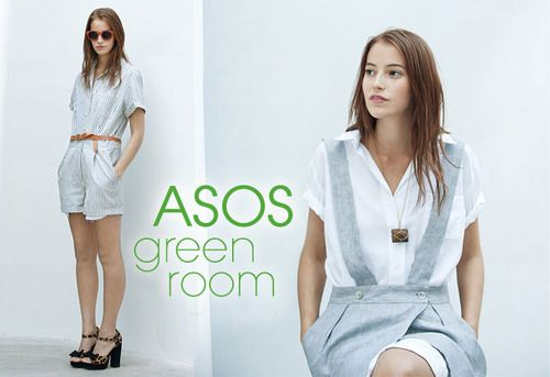 ASOS Green Room showcases labels in sustainable fashion. This enabling customers to make informed choices on clothing not just based upon style!