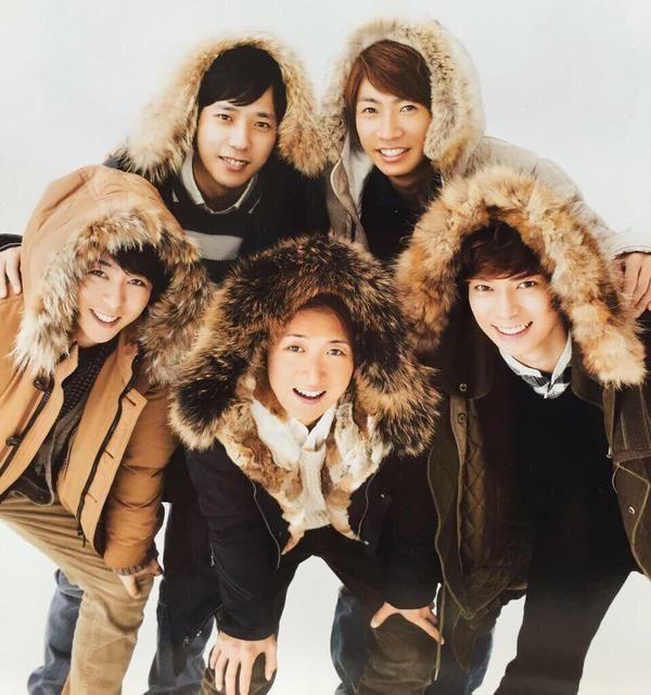 Ninomiya Kazunari, Aiba Masaki, Sho Sakurai, Ohno Satoshi y Matsumoto Jun !!! <3 <3 ARASHI