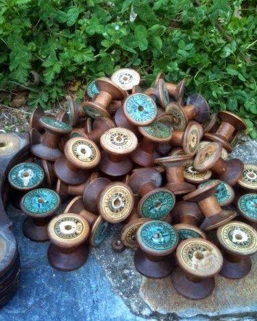 Милые сердцу штучки: Креативный декор или утилизируем деревянные катушки