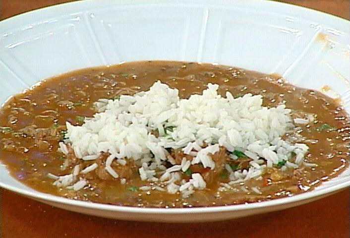 Duck and Wild Mushroom Gumbo Recipe : Emeril Lagasse : Food Network