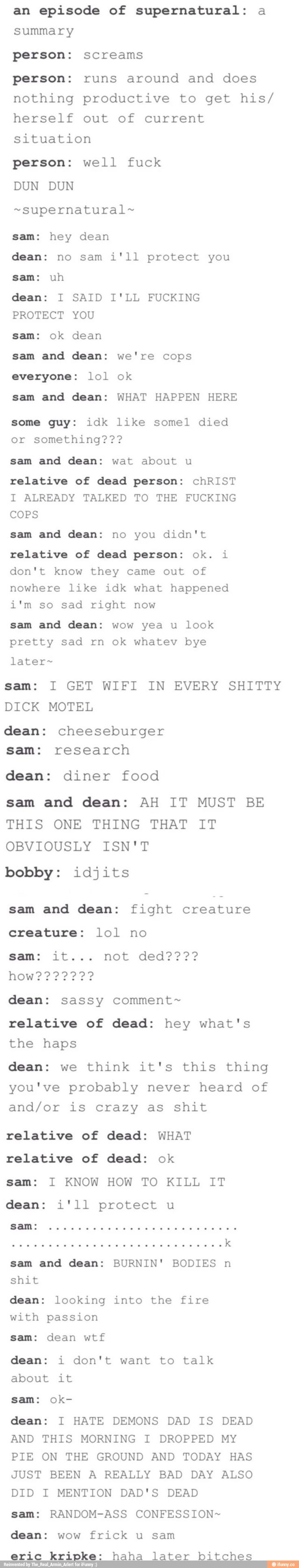 but like.... where is Cas<<he went on a trip, and hasn't been back in a while