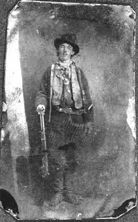 """William H. Bonney (""""Billy the Kid""""), New Mexico. Copy of the tintype likely made in Fort Sumner, N.M., ca. 1878. Palace of the Governors Photo Archives 128785."""