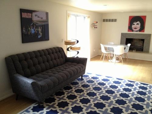 Broyhill Sofa Mid Century Modern Furniture Thrive Home Furnishings Made In America