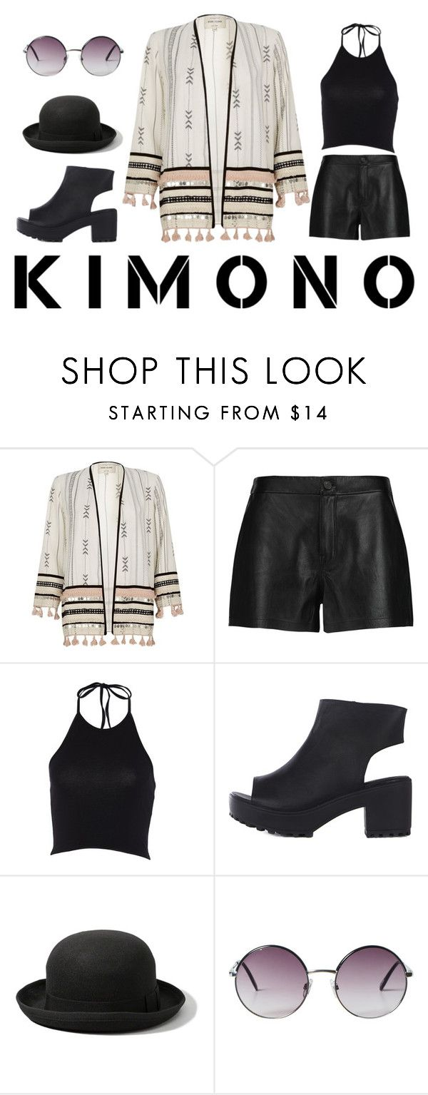 """""""Kimono Cool"""" by lilyrose2000 on Polyvore featuring River Island, J Brand, Abercrombie & Fitch, Monki and kimonos"""