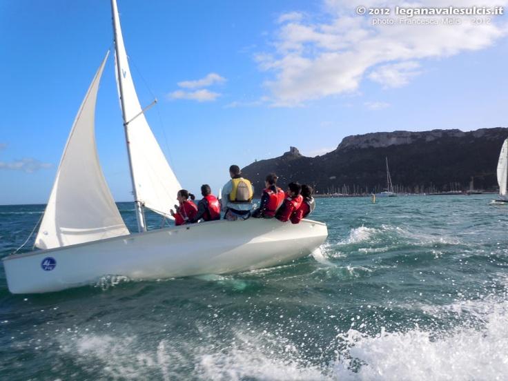 Vela a Marina Piccola per i più piccoli organizzato dalla Lega navale sulcis - 22.01.2012