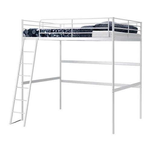 M s de 1000 ideas sobre cama alta en pinterest camas de for Estructura de cama alta ikea