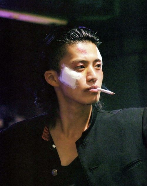 Shun Oguri as Takiya Genji (Crows Zero, Takahashi Miike 2007)