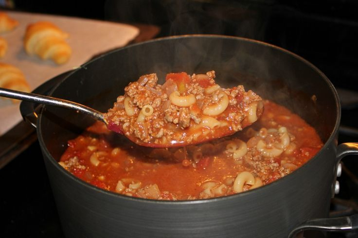 Say what you want of Paula Deen, whether she deserves her fall from grace with her racist remarks or not, but she won't have the kind of following that she has if she wasn't a good cook in the first place. And you've got to admit that she has some fine recipes, like this beef goulash. It's so yummy I can't get enough of it.
