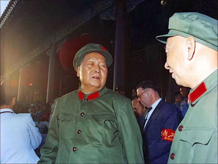 meng-zhaorui-1966-mao-and-others