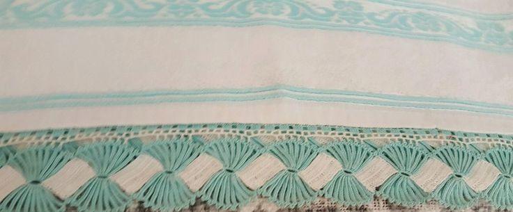 Traditional Turkish Crochet  ''Handmade'' Towel 100% Cotton Women Gift