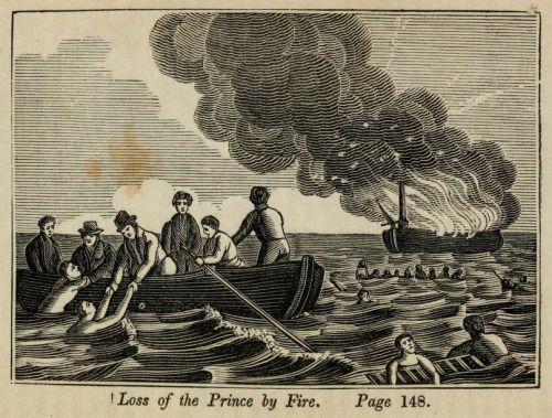 nemfrog:火災によって王子の喪失。 世界のほとんどの地域で最も顕著な難破船、火災、飢饉、災害の興味深いと本物の物語、摂理deliverances、そして海に嘆かわしい災害からのイラスト。 1847。