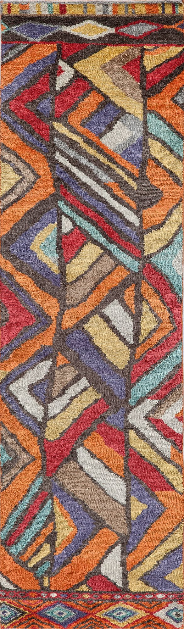 Madagascar Hand-Knotted Rug