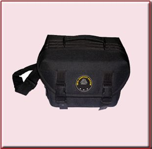 This camera bags are designed to hold one camera body, one lens and its accessory compatible with most of the branded camera with its standard lens & vital accessories for e.g Nikon D50, 70, canon 300D etc.  The bag has no external storage & offer inner zipper storage with multiple velcro section to store extra lens, accessory, flash, memory cards etc.  It is made up of hard rubber padding, water resist, unbreakable abs grade plastic locks & premum quality zippers & velcro.