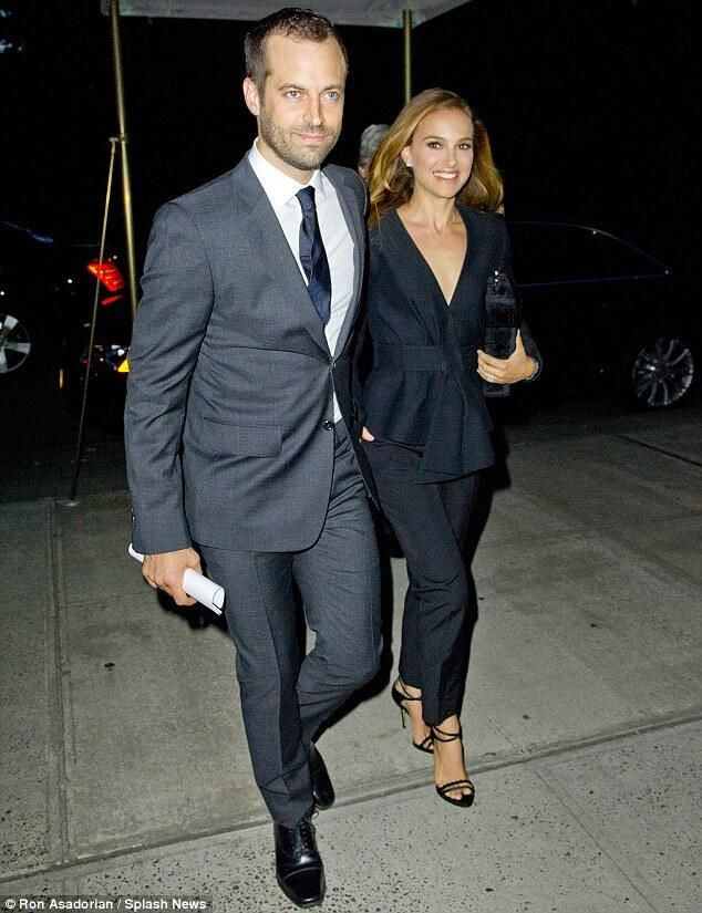 Natalie Portman and Benjamin Millepied in NY.