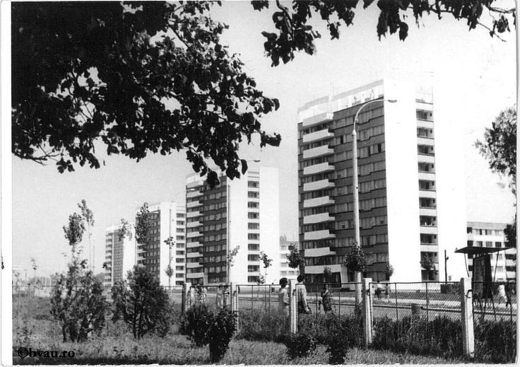 """Țiglina II - vedere generală, 1968, Galați, România. Imagine din colecțiile Bibliotecii """"V.A. Urechia"""" Galați."""