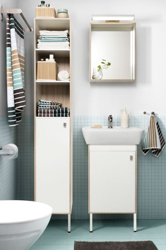 Find Storage Space You Never Thought You Had With The Space Saving Tyngen Bathroom Series