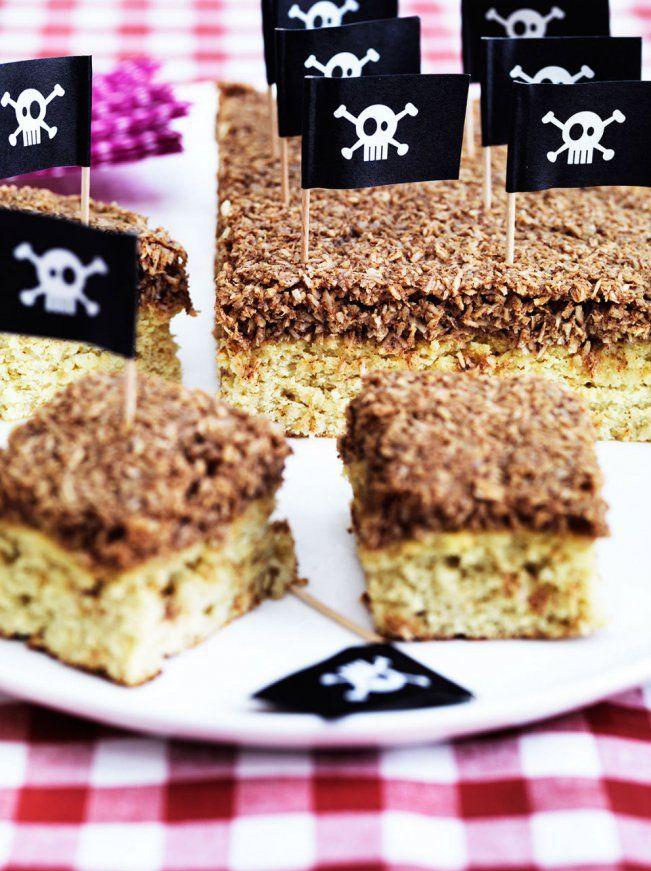 LCHF мечта торт - без глютена и без сахара