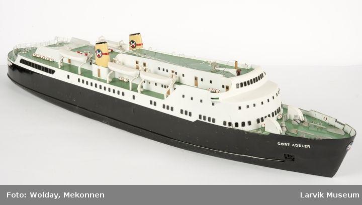 DigitaltMuseum - Skipsmodell