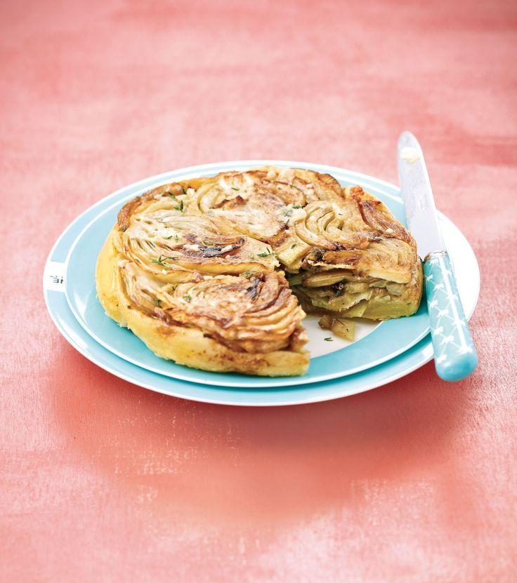 Tatin de fenouil au parmesan – #au #de #fenouil #o…