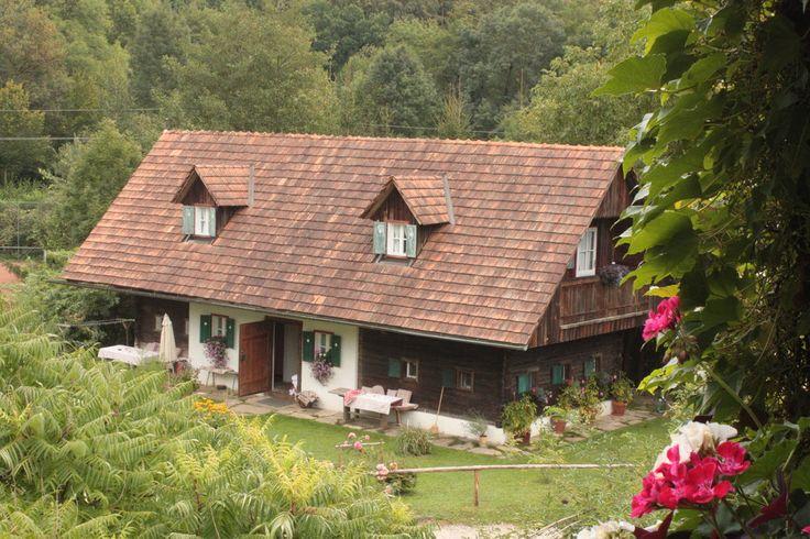 Außenansicht - Romantische Winzerzimmer im alten Bauernhaus