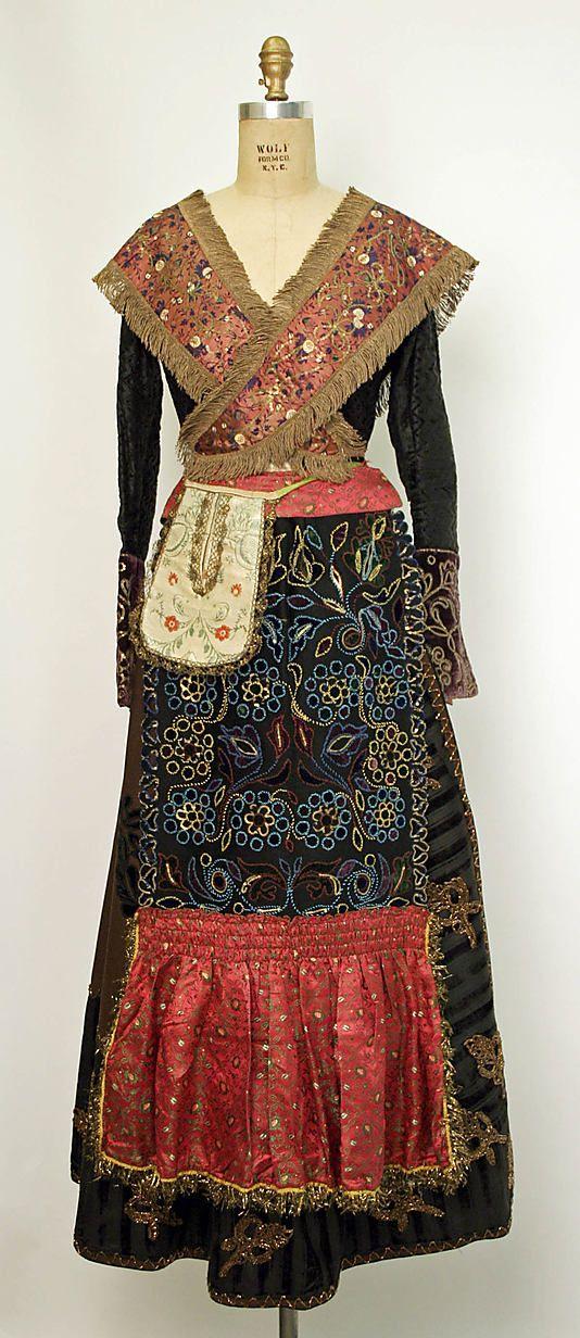 Spanish ensemble - late 19th century.