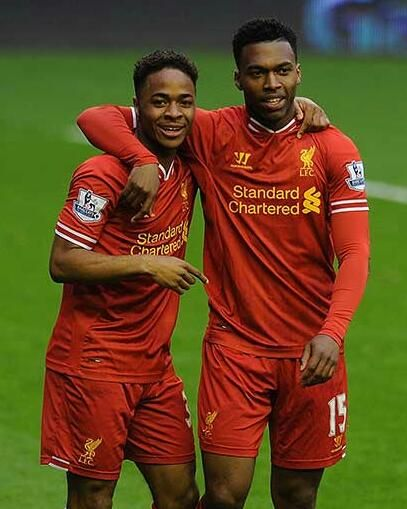 Goals and assists galore... Sturridge & Sterling today against Swansea. #LFC #LIVSWA