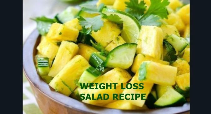 Healthy pineapple and cucumber salad recipe for weight loss – Read Health Relate… – all recipes