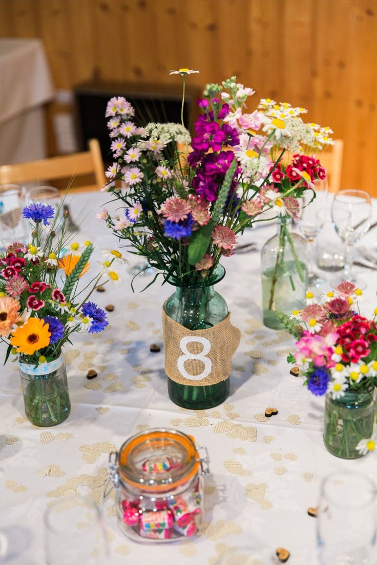 Colour Pop Relaxed & Budget Friendly Village Hall Wedding