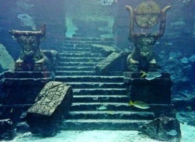 Underwater Temple of Lake Titicaca
