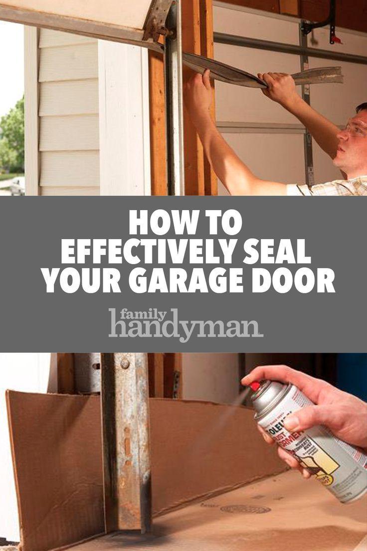 Fixing Garage Doors Garage Door Seal Garage Door Bottom Seal Garage Doors