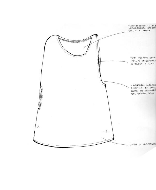 Disegno tecnico a piatto (disegno a mano libera, formato 210x297mm, Giugno 2011)